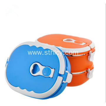 High Quality Multicolor Insulated Square Lunch Box